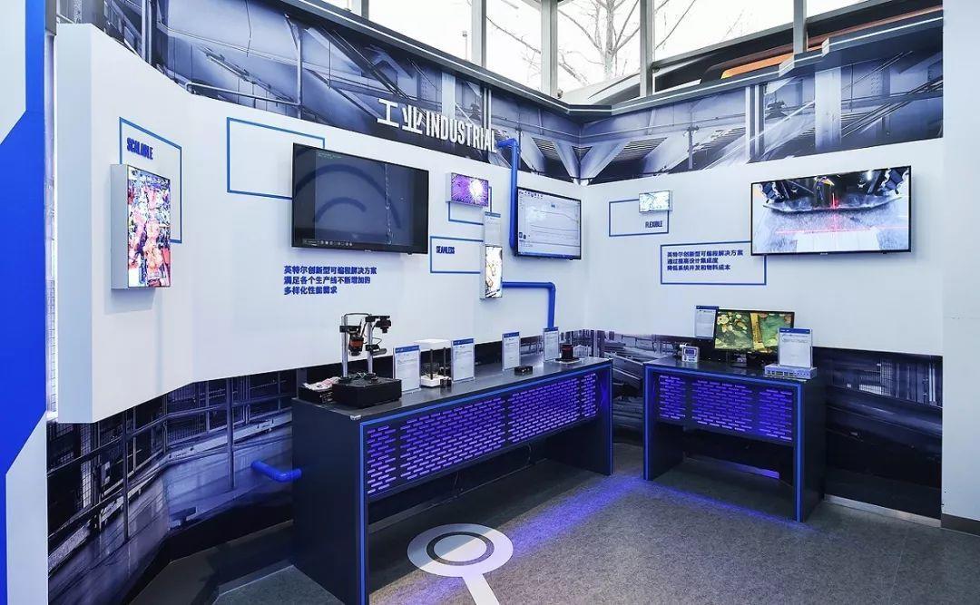 FPGA创新中心展厅工业展区