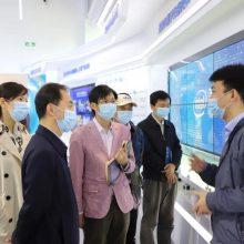 在英特尔FPGA中国创新中心听取高新技术发展情况