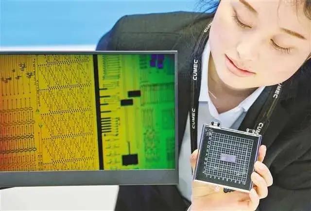 联合微电子展示其设计生产的芯片